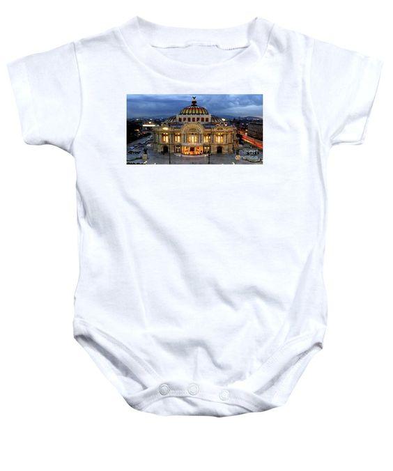 Baby Onesie - Palacio De Bellas Artes Mexico