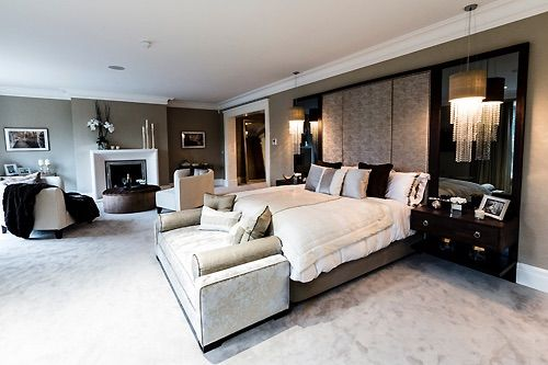 Inside Luxury Bedrooms image via we heart it #beautiful #bedroom #dream #home #house