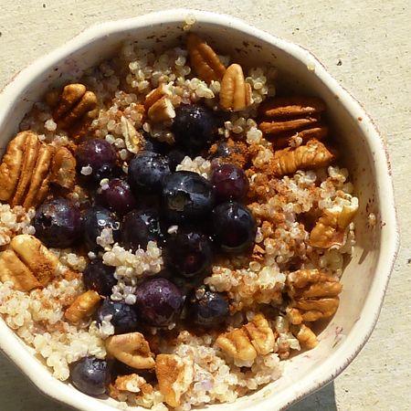 Warm and Nutty Cinnamon Quinoa Recipe | This Chick Cooks ~ Prepare a ...
