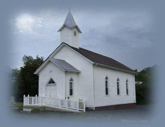 Heavens Gates Little Country Church