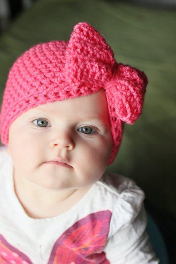 Diademas Tejidas Para Bebe Nina
