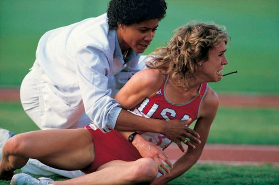 "Decker Vs Budd (1984) Another incident that made the 1984 Olympic Games highly controversial. During the women's 3000m, bitter rivals ignited their feud when America's Mary Decker collided with South African runner, Zola Budd (who was now running for Great Britain, thanks to a ""super fast"" passport delivery – but that's a story for a different day). The collision caused Decker to fall, and subsequently lose the race. Decker blamed Budd, and Budd blamed Decker, and in the end, nobody took…"