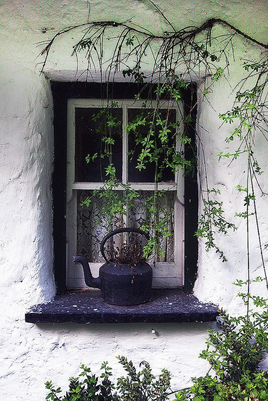 Window, Irish Cottage