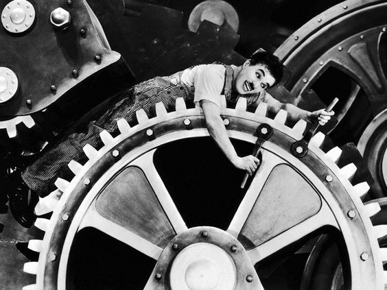 Modern Times is a 1936 comedy film written and directed by Charlie Chaplin.
