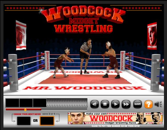 Mr. Woodcock Midget Wrestling video mixer by Heavenspot