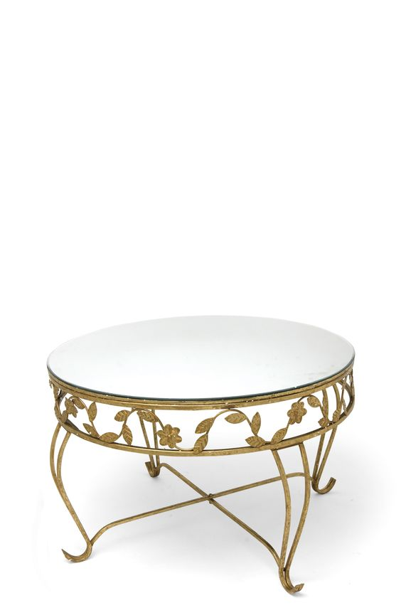gold leaf coffee table available from www.pearlandgodiva.com