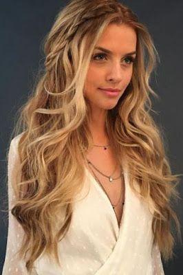 12 Peinados con cabello suelto y largo
