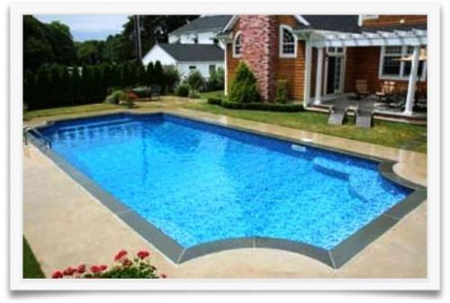 Rectangle Inground Pools semi inground pools | rectangular semi inground pools http://www