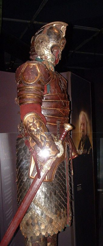 Lord of the Rings. I believe this is Theoden's armor (if I'm spelling that right, jeez i feel like such a loser for forgetting)