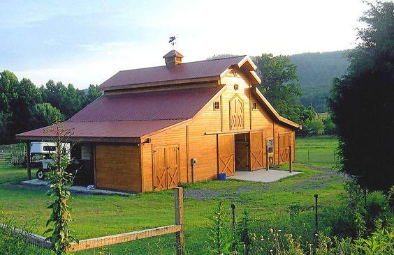 Barn pros teton 36 in dalton georgia barn homes for Barn pros nationwide