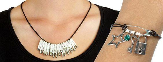 Inspiración & Información Proyectos de joyas Collares