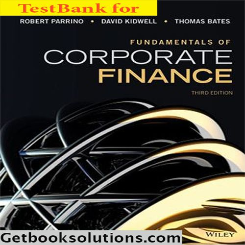 answers in chapter 7 fundamentals of corporate finance This feature is not available right now please try again later.