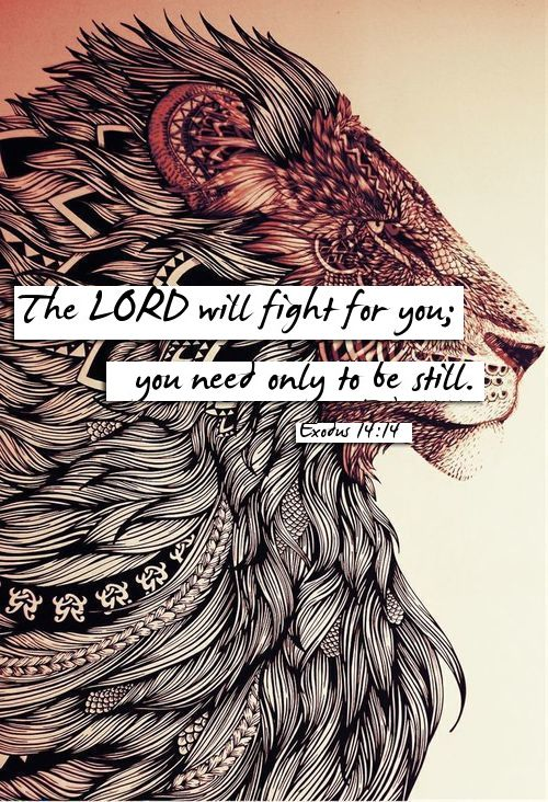 Stand still and see the salvation of our Lord