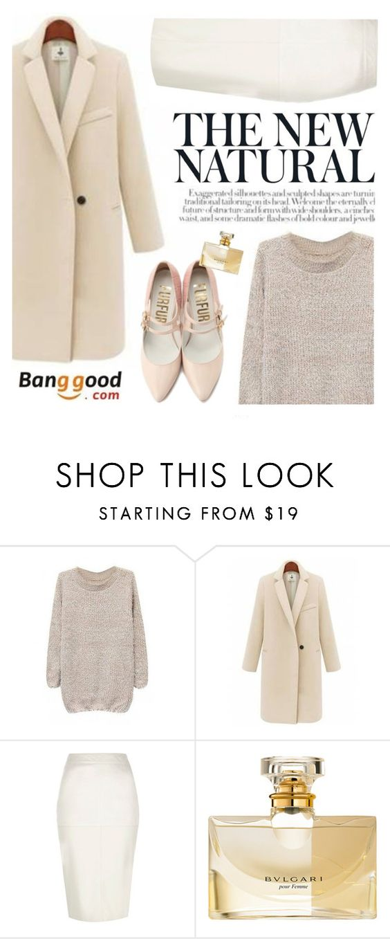 """""""Banggood 30"""" by mihreta-m ❤ liked on Polyvore featuring River Island and Bulgari"""