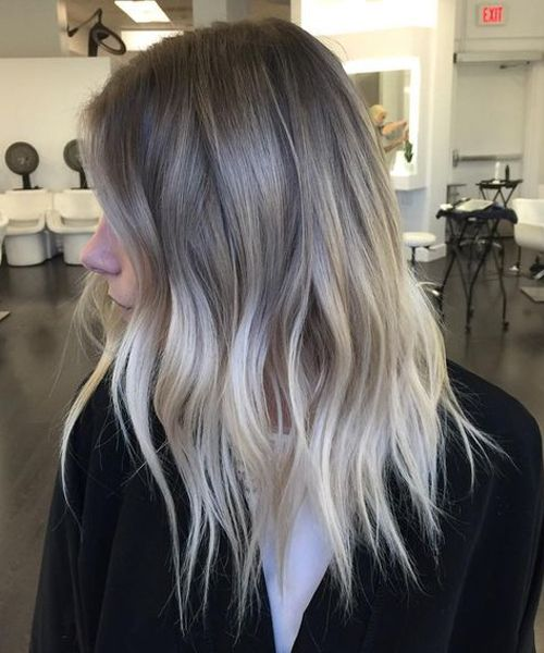 Finnest Ash Blonde Hairstyles 2018 For Women With Medium To Long
