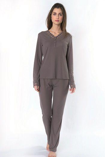 Pijama invierno mujer modelo Easy by Egatex.  http://www.perfumeriaelajuar.com/homewear/pijama-mujer-invierno-/30/