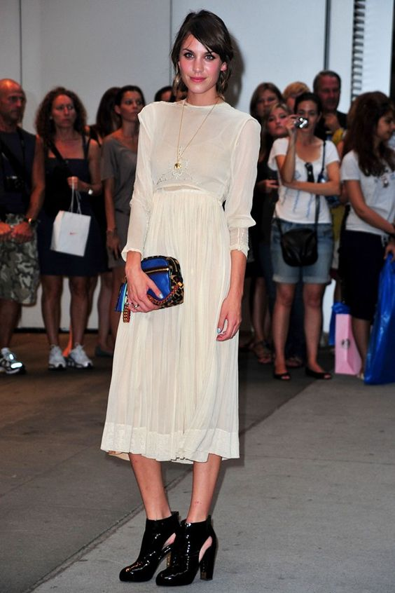Alexa Chung 19 August 2009 - premiere of The September Issue in New York