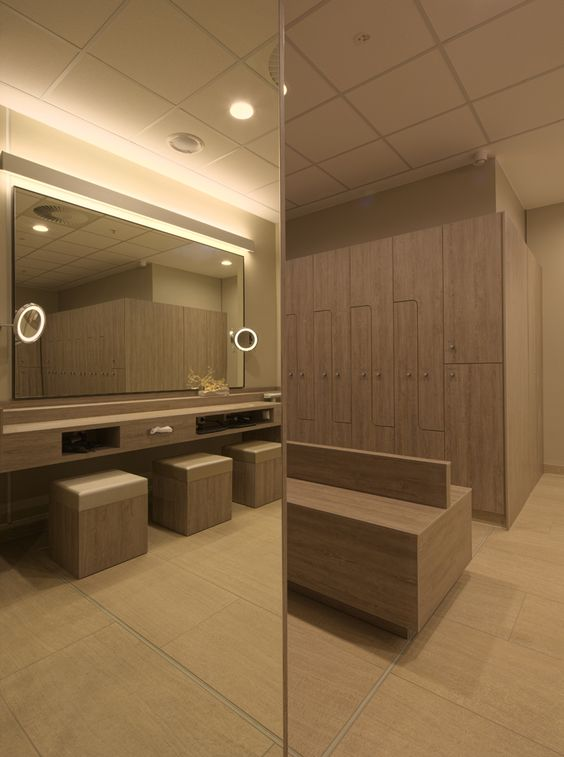changing rooms at Hotel Neptun SPA   designed by JOI Design   Christian Kretschmar. changing rooms at Hotel Neptun SPA   designed by JOI Design