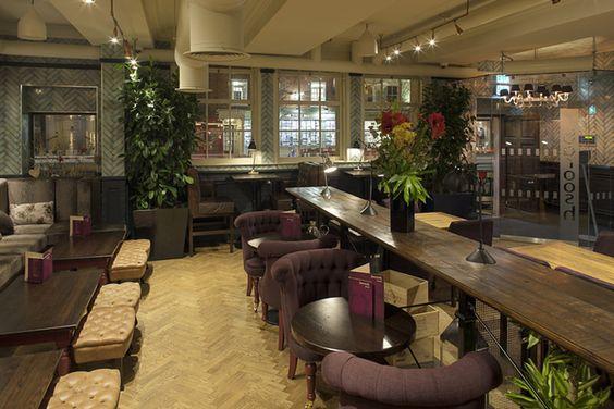 Los 27 mejores diseños de interiores de bares y restaurantes del mundo 2013, Reino Unido: Mejor Club: Baroosh / Harrison www.decorgreen.es