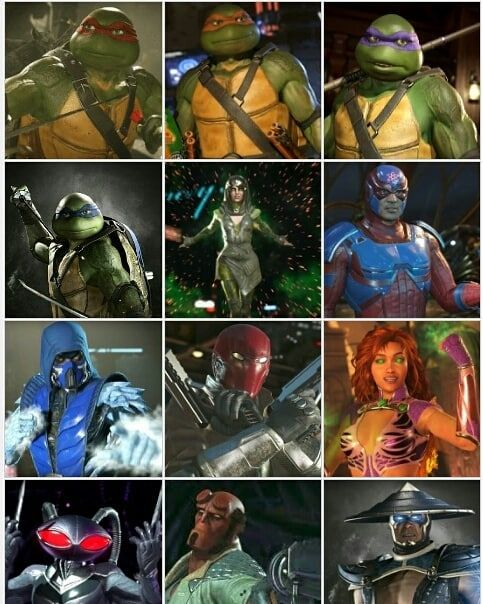 You Want Some Injustice 2 Dlc And Premiere Skin Collages No Well Too Bad You Re Getting Em Anyway Q Fave Dlc Char Black Manta Black Lightning Cartoon Art