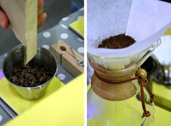 Cómo usar una cafetera Chemex
