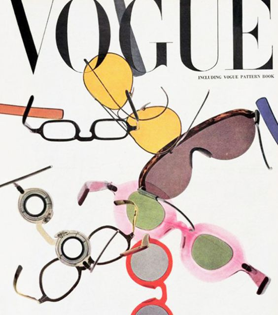 Vogue Magazine Archive, cover 1946   #eyewear #sunglasses #fashion #style #accessories #archivista