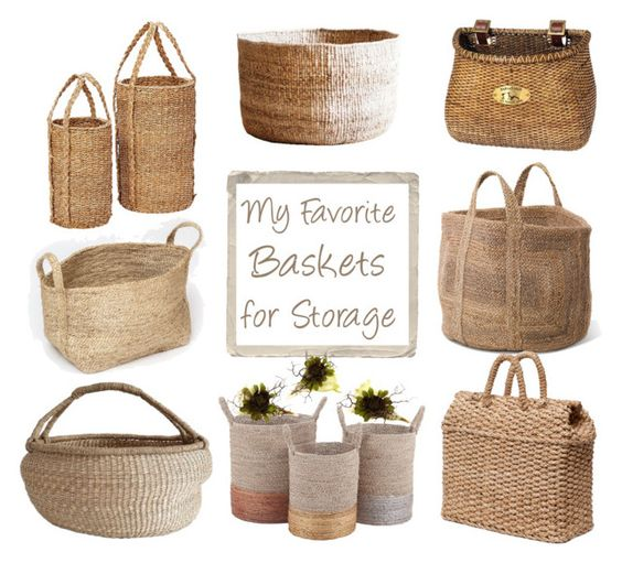 """""""Basket Collection"""" by gangdise ❤ liked on Polyvore featuring interior, interiors, interior design, home, home decor, interior decorating, The Dharma Door, NKUKU, Hübsch and Pigeon & Poodle"""