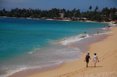 Unawatuna Beach in Sri Lanka - Greg Rodgers