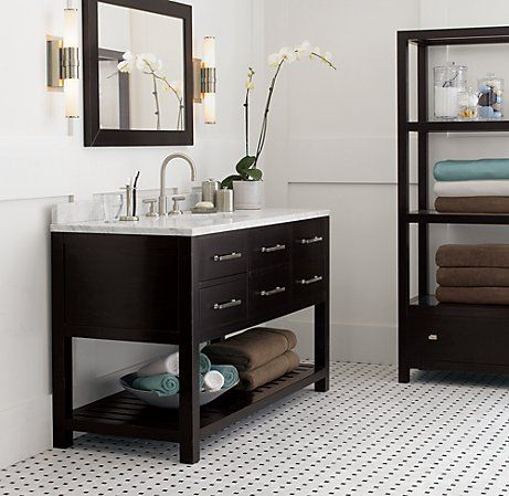 Bathroom vanity mirror and sconces for the home - Discount bathroom vanities chicago ...