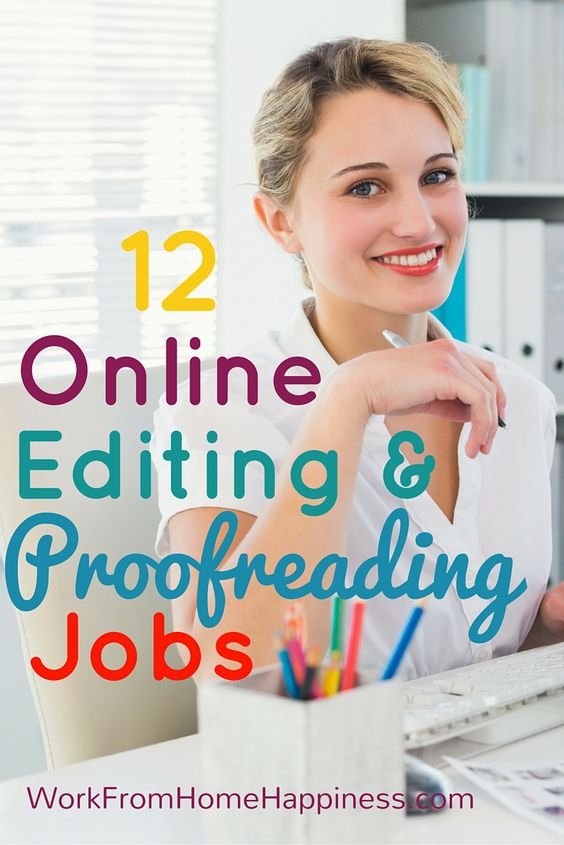 Writing proofreading online