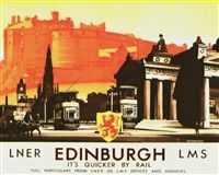 Edinburgh von Ludwig Hohlwein