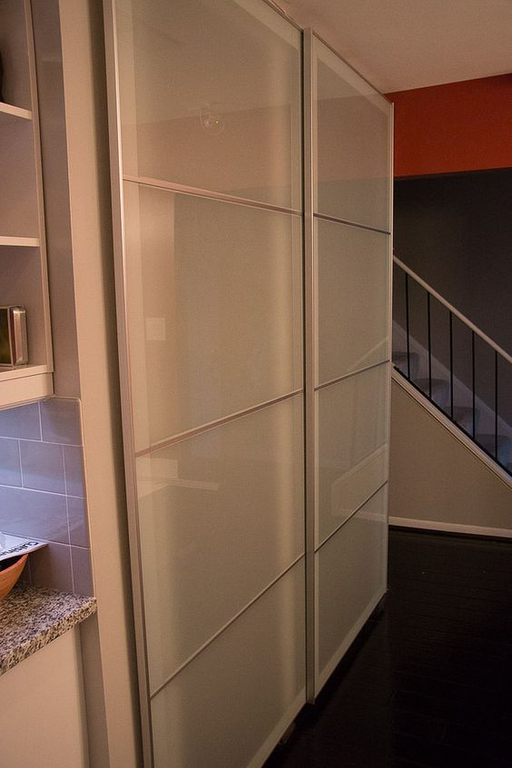 ikea pax system as sliding closet doors sliding doors pinterest ikea pax ikea hacks and. Black Bedroom Furniture Sets. Home Design Ideas