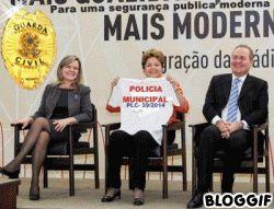 GCM NEWS BRASIL: Presidenta Dilma Rousseff  - ASSINA o projeto de l...