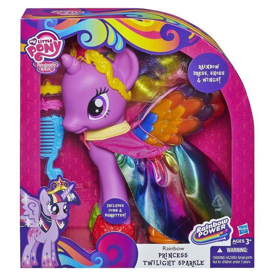 NIB My Little Pony Rainbow Princess Twilight Sparkle Figure #Hasbro #Dolls