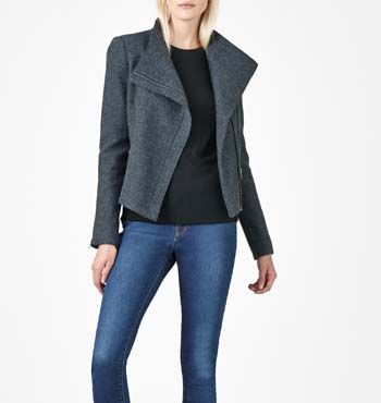 MARCS | Jackets &amp Coats - LILY FELTED WOOL JACKET | Fashioned in a