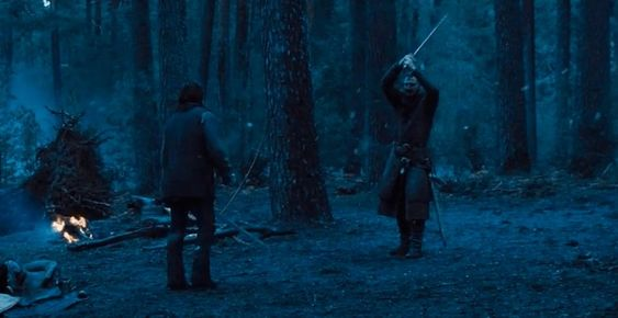 Escena de la película Cruzada