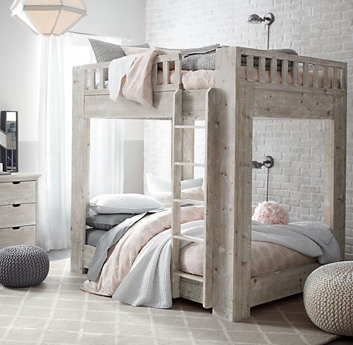 Callum Platform Full-Over-Full Bunk Bed | All Beds | Restoration Hardware Baby & Child: