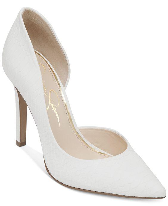 Jessica Simpson Claudette d'Orsay Pumps - Jessica Simpson - Shoes - Macy's