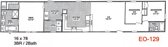 Mccants mobile homes have a great line of single wide for Southern energy homes floor plans