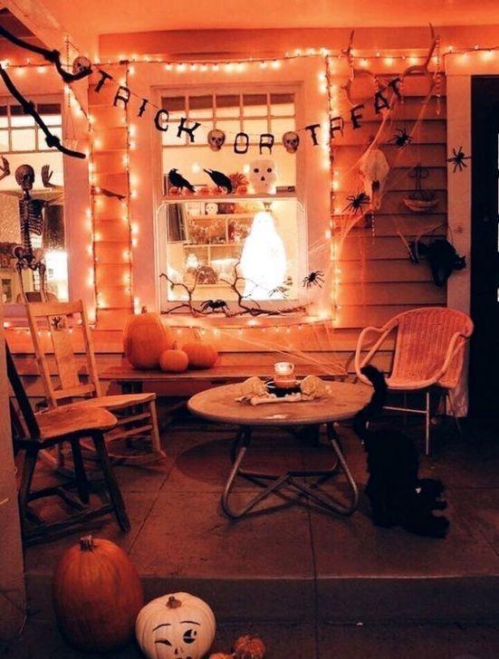 Vintage halloween home decor