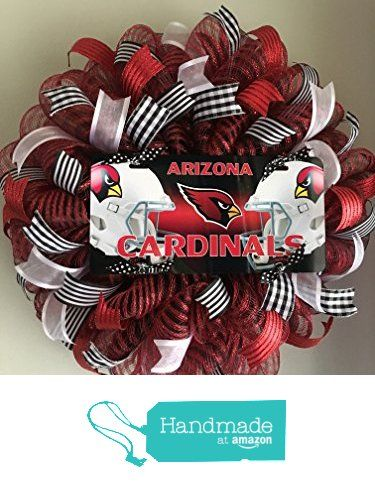 Arizona Cardinals Mesh Wreath from This n That Wreaths…