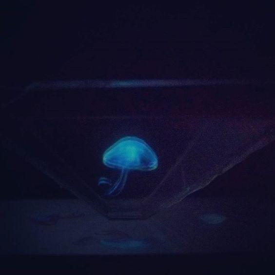 """Pasando el rato """"Holograma casero"""" #holograma #hologram #homemade #hologramforpyramid @lukssltr"""