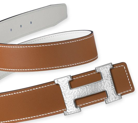 hermes saddle cover - Belt kit 32 mm Hermes 32 mm leather strap in white/natural epsom ...