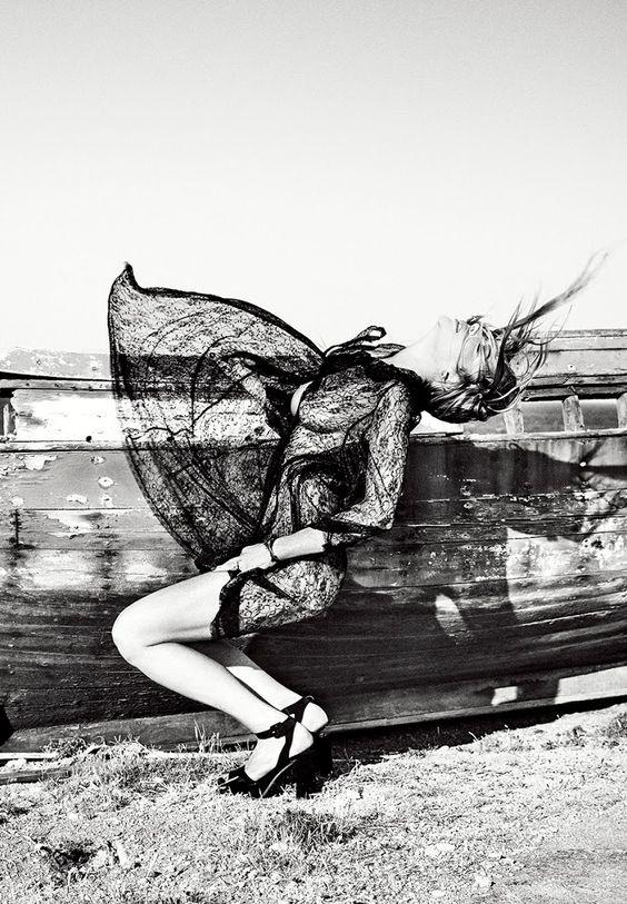 Lindsay Lohan by Ellen von Unwerth for Notofu Winter 2015