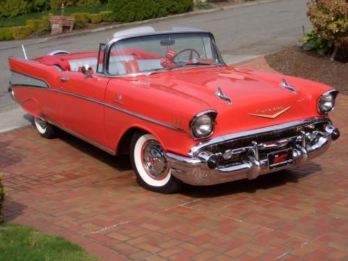 Car Of The Week: 1957 Chevrolet Bel Air   Old Cars Weekly