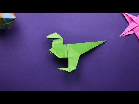origami easy dinosaur triceratops - YouTube | 360x480
