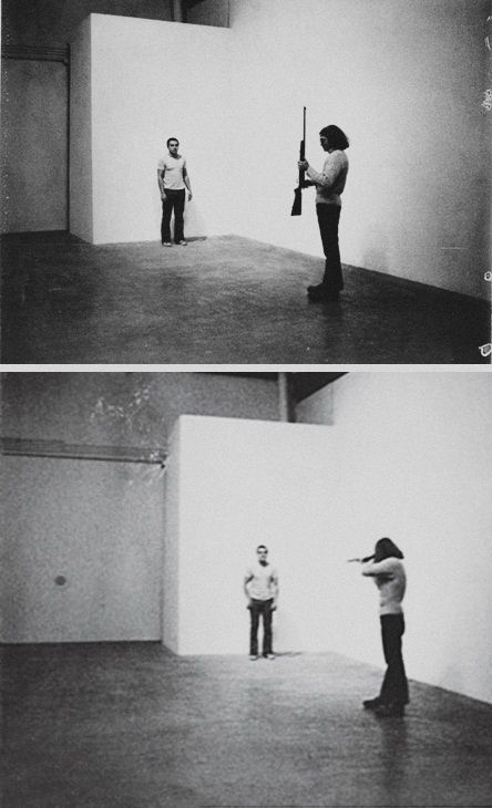 Chris Burden, The Shoot.
