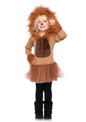 Child Cuddly Lion Animal Costume Halloween | eBay..maybe I could modify this for an adult.