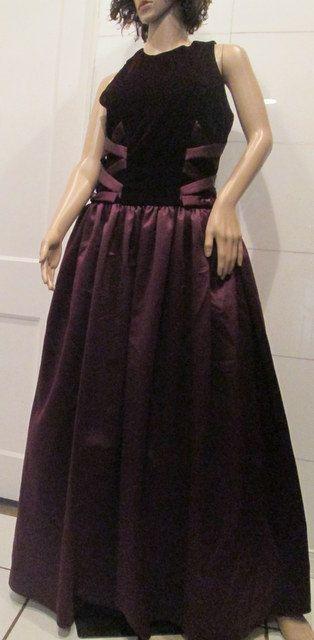Scott MCclintock Evening Gown.  Winter Velvet by MISSVINTAGE5000