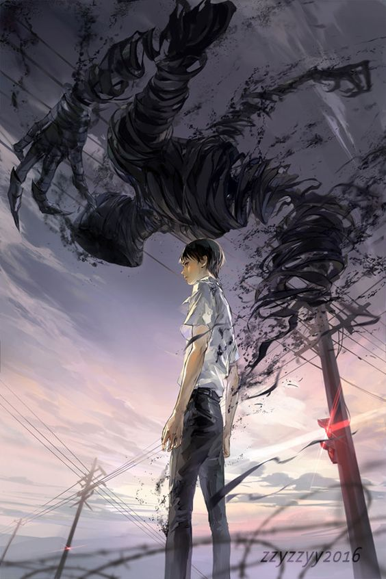 Anime Boys: Dark Shadow | Anime art | Pinterest | Leaves ...